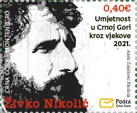 Umjetnost u Crnoj Gori kroz vjekove 2021. – Živko Nikolić