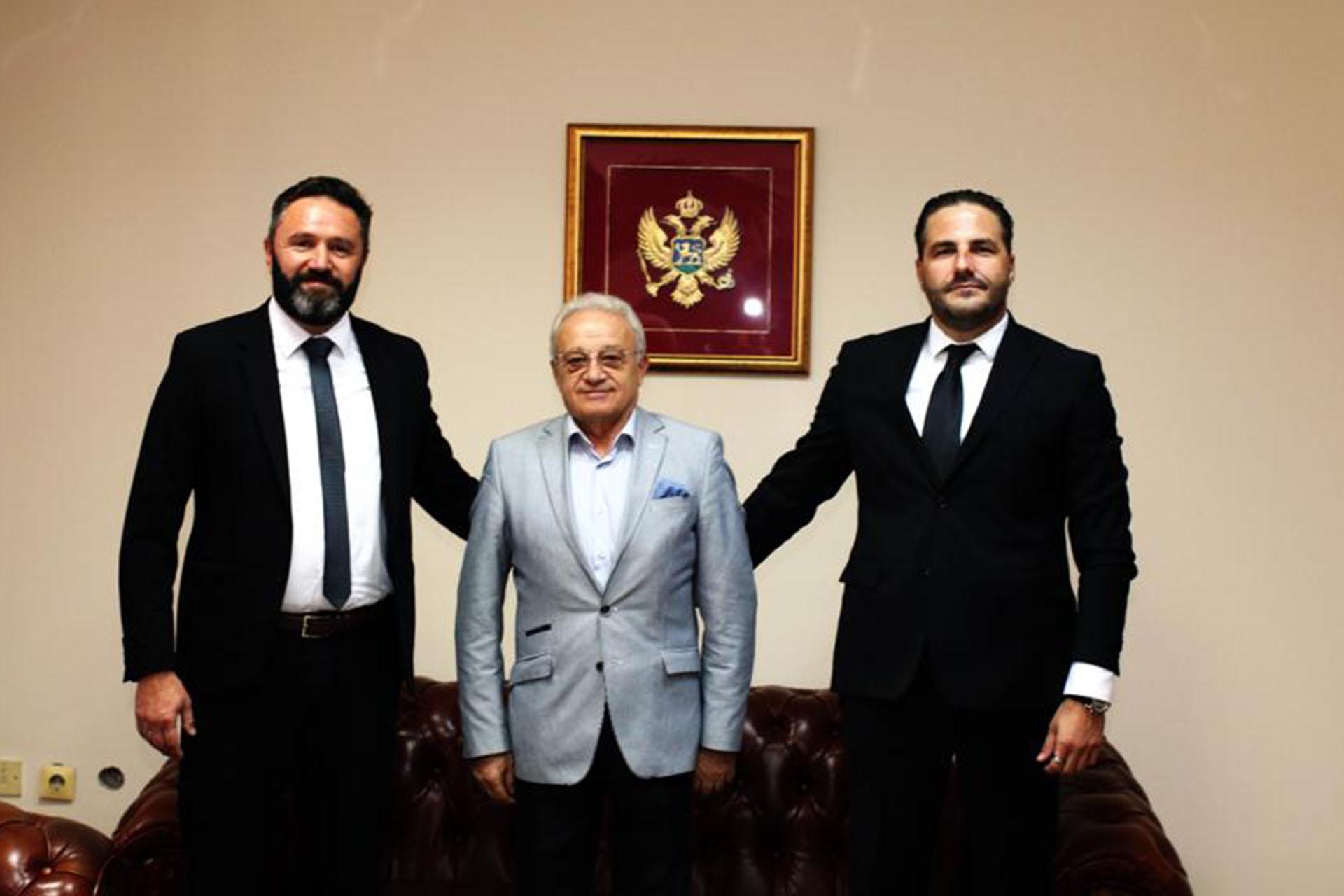 Ambasador Republike Sjeverne Makedonije u posjeti Pošti Crne Gore