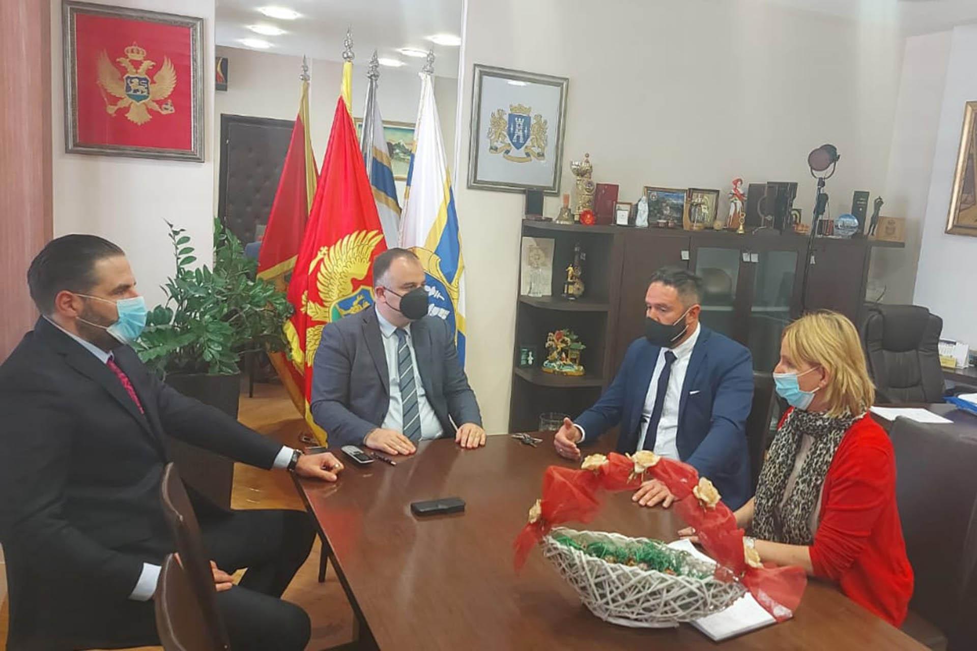 Izvrsni direktor i Predsjednik Odbora u posjeti RCP Herceg Novi