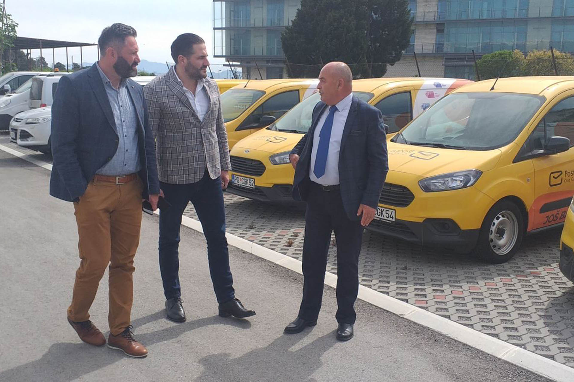 Izvršni direktor i Predsjednik Odbora direktora posjetili novi objekat PLC-a