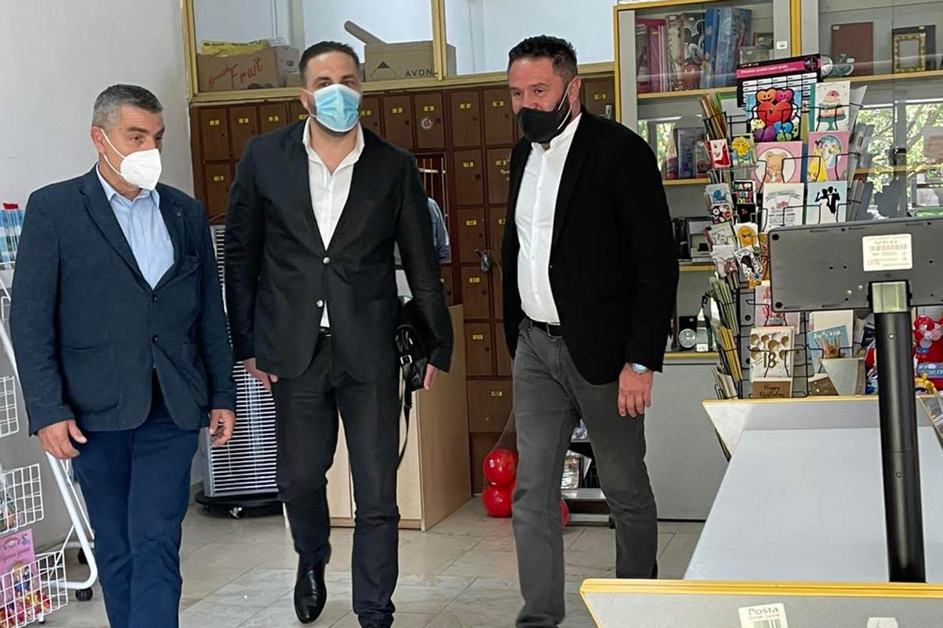 Izvršni direktor i Predsjednik Odbora  u posjeti RCP Budva