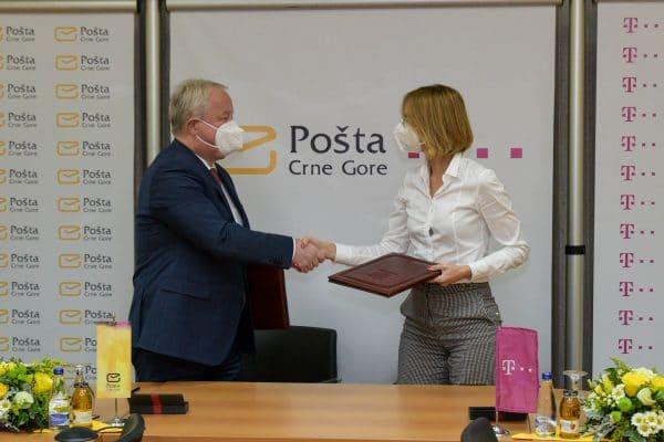 Pošta i Crnogorski Telekom potpisali Sporazum o saradnji u oblasti digitalizacije